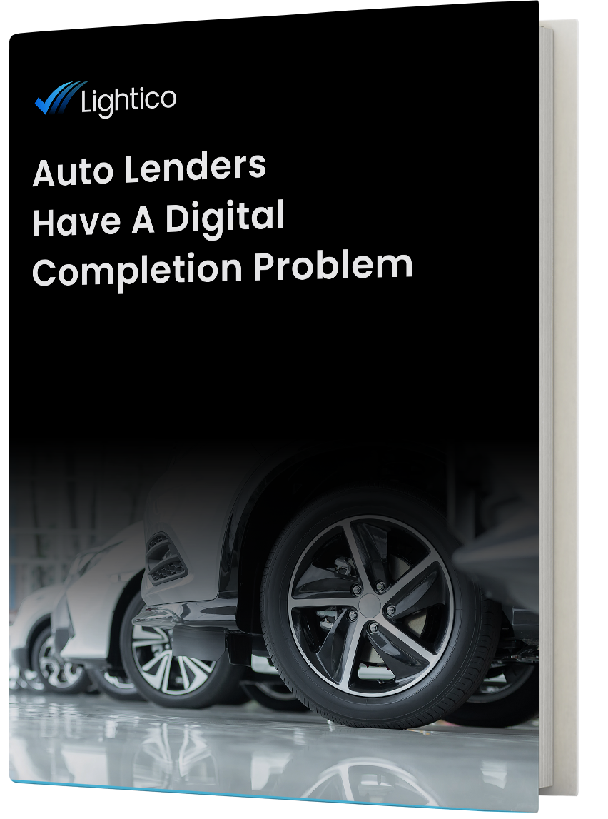 Auto Lenders Have A Digital Completion Problem
